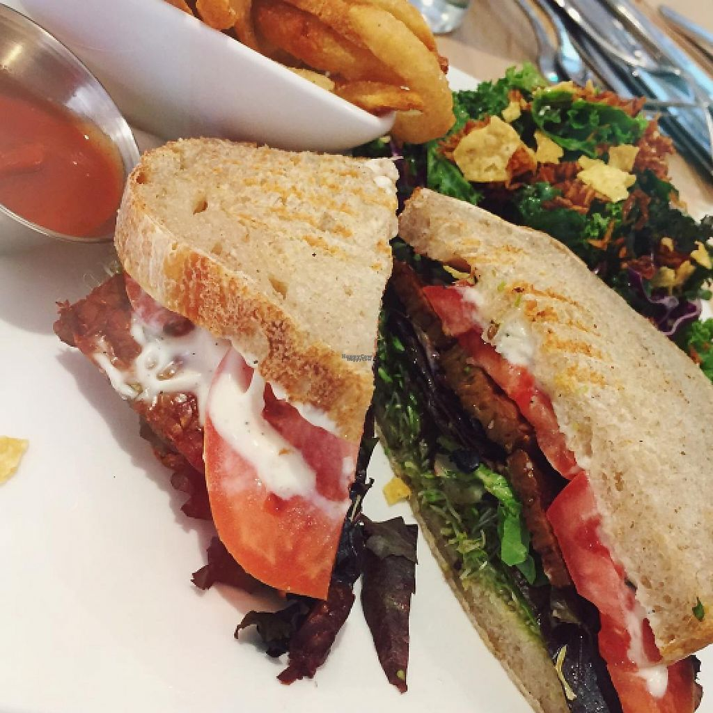"""Photo of Pure Kitchen - Elgin St  by <a href=""""/members/profile/tarsbo"""">tarsbo</a> <br/>Cheerful BLT <br/> March 6, 2017  - <a href='/contact/abuse/image/75281/233514'>Report</a>"""