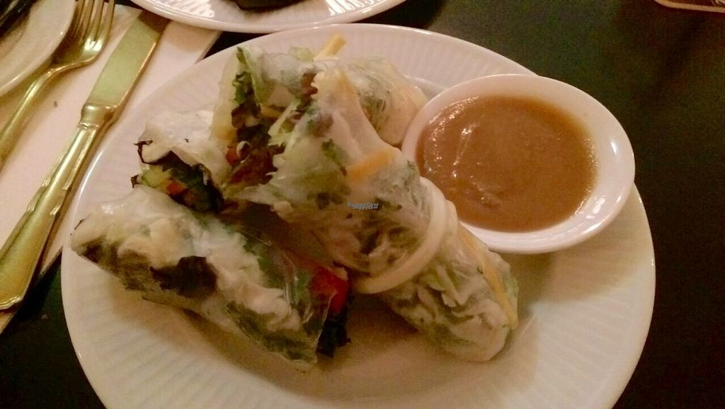 "Photo of CLOSED: Bar James  by <a href=""/members/profile/happyowl"">happyowl</a> <br/>Rice paper rolls with hoisin sauce <br/> October 2, 2016  - <a href='/contact/abuse/image/75285/179250'>Report</a>"