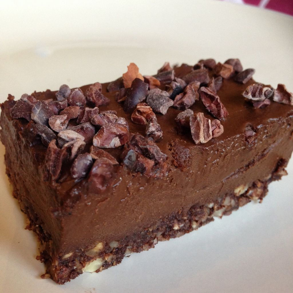 """Photo of The Naked Deli - Heaton  by <a href=""""/members/profile/SaraFitz"""">SaraFitz</a> <br/>chocolate cashew cheesecake  <br/> June 23, 2016  - <a href='/contact/abuse/image/75328/155753'>Report</a>"""