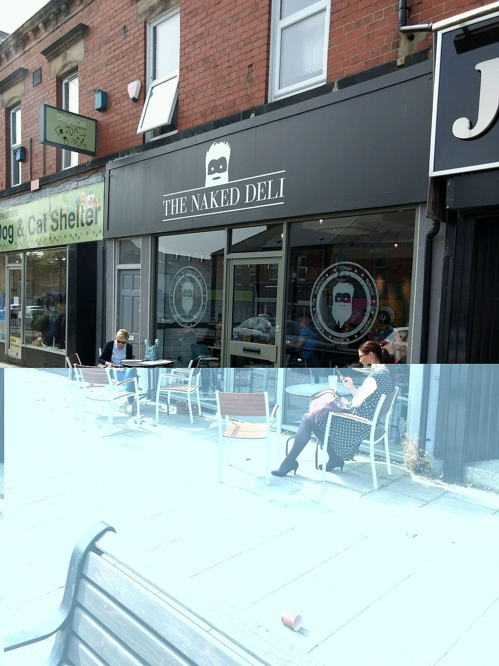 """Photo of The Naked Deli - Heaton  by <a href=""""/members/profile/craigmc"""">craigmc</a> <br/>outside <br/> August 21, 2017  - <a href='/contact/abuse/image/75328/295137'>Report</a>"""