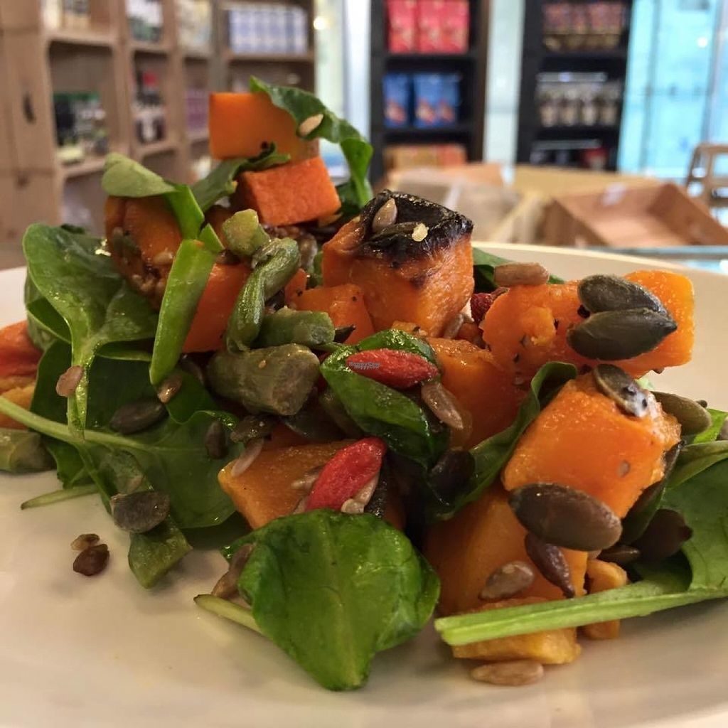"""Photo of The Naked Deli - Gosforth  by <a href=""""/members/profile/Meaks"""">Meaks</a> <br/>Superfood Salad <br/> August 4, 2016  - <a href='/contact/abuse/image/75329/165343'>Report</a>"""