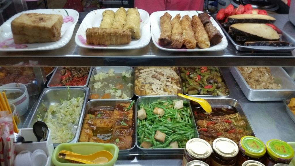 """Photo of Fo Yuan Miao Vegetarian  by <a href=""""/members/profile/JimmySeah"""">JimmySeah</a> <br/>buffet selection <br/> June 19, 2016  - <a href='/contact/abuse/image/75339/154919'>Report</a>"""