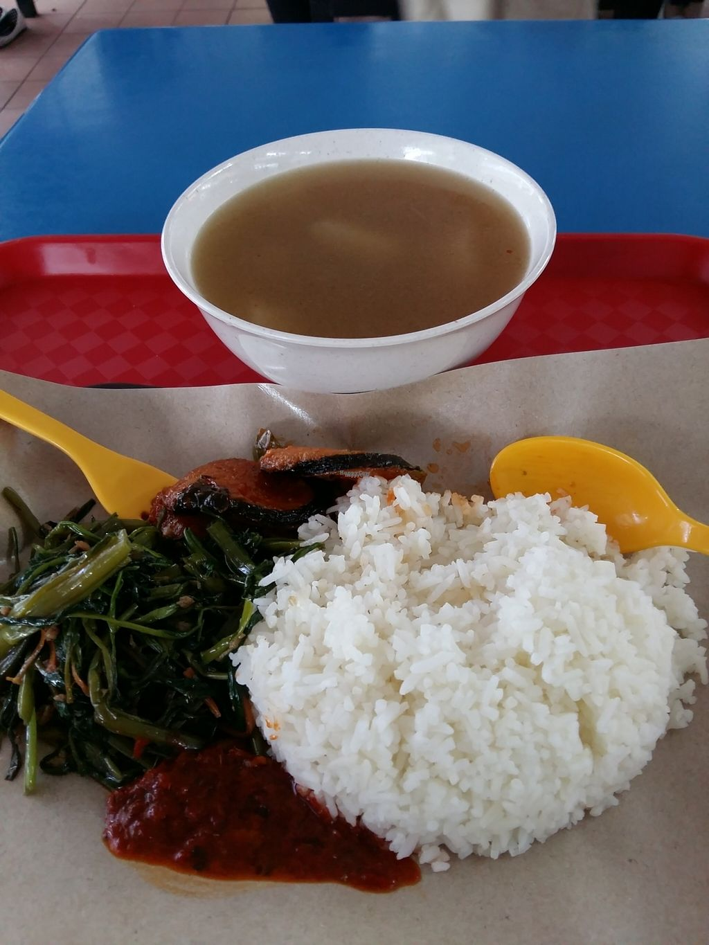 """Photo of CLOSED: The Vegetarian  by <a href=""""/members/profile/RichardLee"""">RichardLee</a> <br/>Soup + Rice Set <br/> October 15, 2016  - <a href='/contact/abuse/image/75342/182168'>Report</a>"""