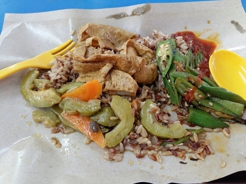 """Photo of CLOSED: The Vegetarian  by <a href=""""/members/profile/RichardLee"""">RichardLee</a> <br/>Mixed Vege Rice <br/> October 17, 2016  - <a href='/contact/abuse/image/75342/182573'>Report</a>"""