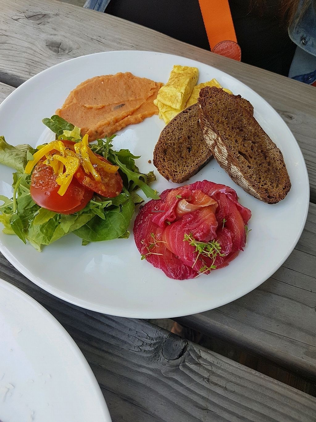 """Photo of GYS  by <a href=""""/members/profile/Zrinka"""">Zrinka</a> <br/>ontbijt: toast met zalm en zoete aardappel  <br/> August 27, 2017  - <a href='/contact/abuse/image/75386/297836'>Report</a>"""