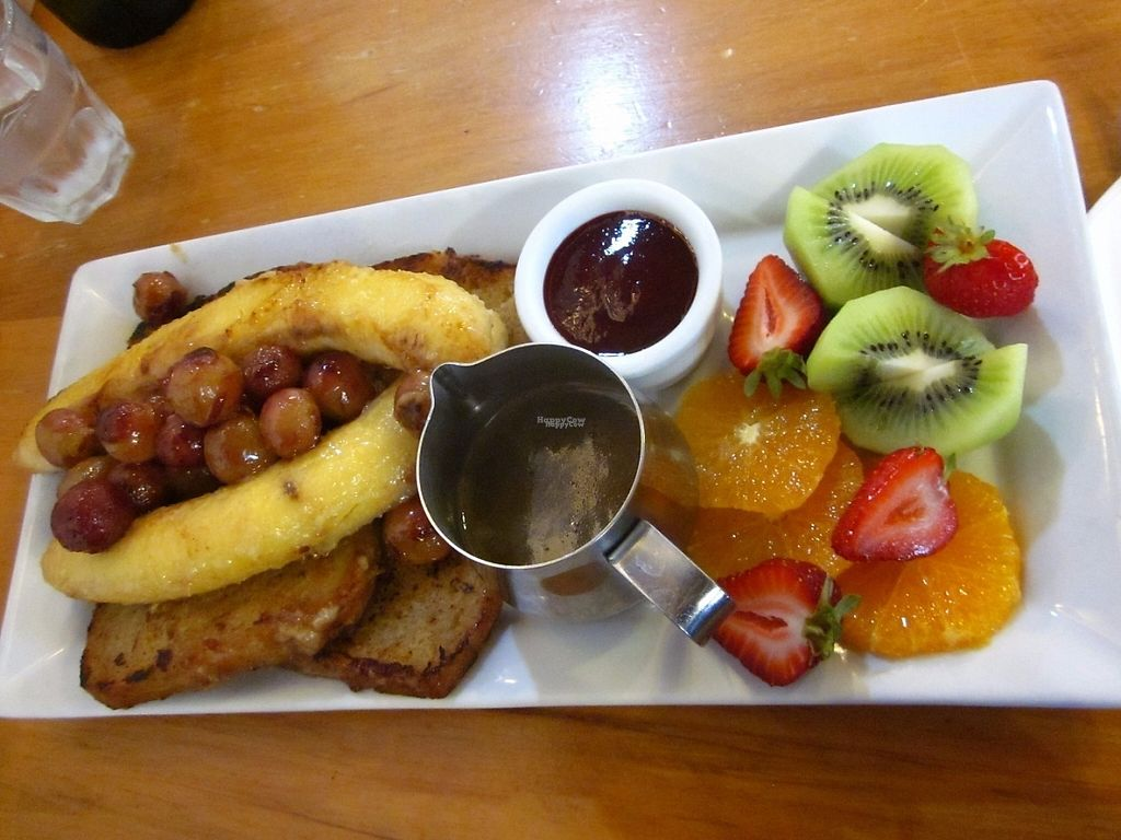 "Photo of Crusoe's Cafe & Bar  by <a href=""/members/profile/Dharini"">Dharini</a> <br/>vegan french toast also gluten free option <br/> March 7, 2017  - <a href='/contact/abuse/image/75391/233707'>Report</a>"