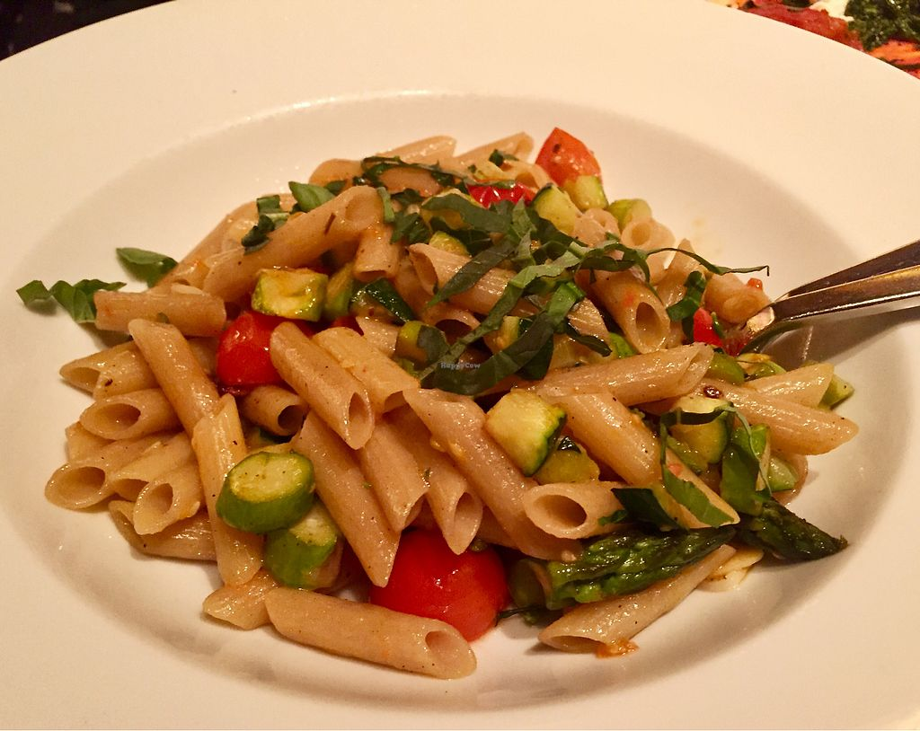 """Photo of Wynn Hotel - Allegro  by <a href=""""/members/profile/VeganCookieLover"""">VeganCookieLover</a> <br/>Organic Ancient Grain Penne  <br/> June 29, 2017  - <a href='/contact/abuse/image/75394/274599'>Report</a>"""