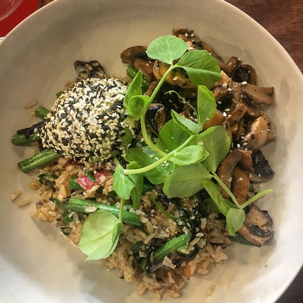 "Photo of Two Chaps  by <a href=""/members/profile/Necia11"">Necia11</a> <br/>Vegan Breakfast Rice dish at Two Chaps <br/> April 23, 2017  - <a href='/contact/abuse/image/75397/251414'>Report</a>"