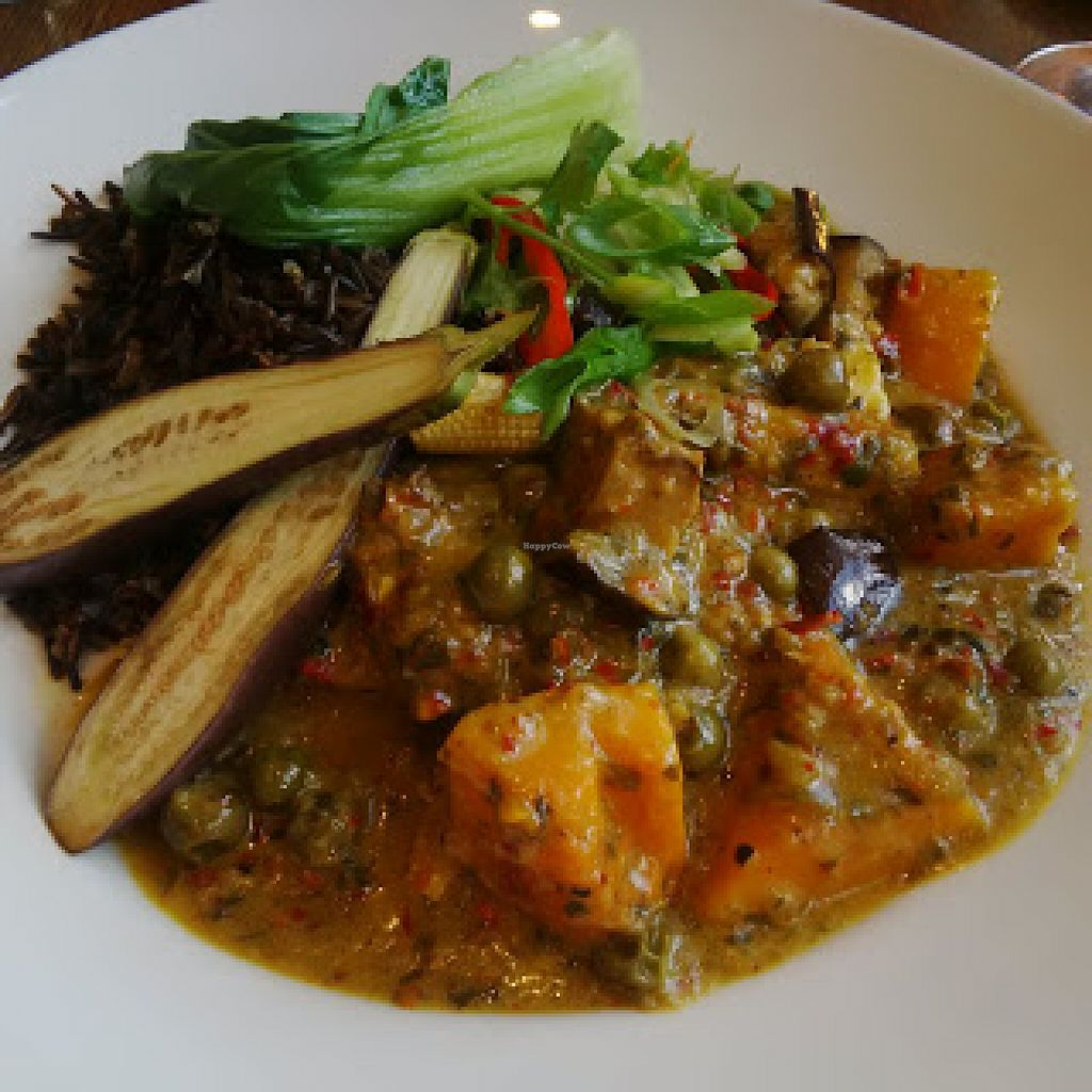 """Photo of The Aspinall Arms  by <a href=""""/members/profile/Veganolive1"""">Veganolive1</a> <br/>Keang Pha Thai Curry <br/> June 20, 2016  - <a href='/contact/abuse/image/75412/155154'>Report</a>"""