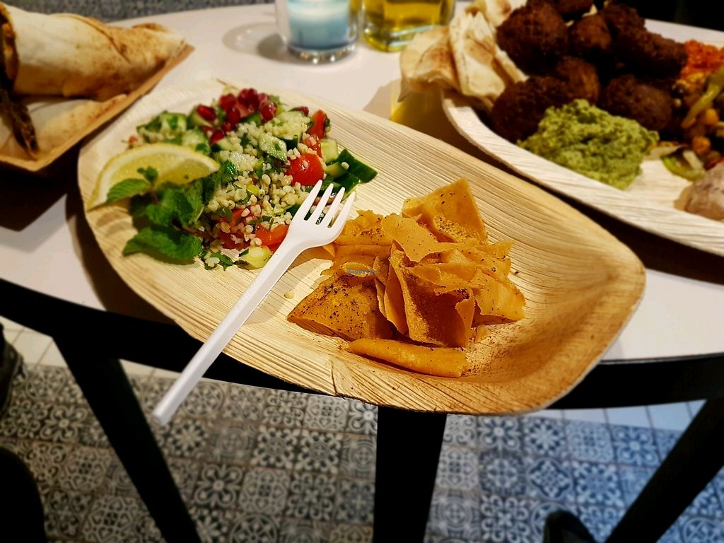 """Photo of Maza Mediterranean Delicacies  by <a href=""""/members/profile/Hoggy"""">Hoggy</a> <br/>Vegan tabbouleh <br/> December 14, 2017  - <a href='/contact/abuse/image/75425/335495'>Report</a>"""