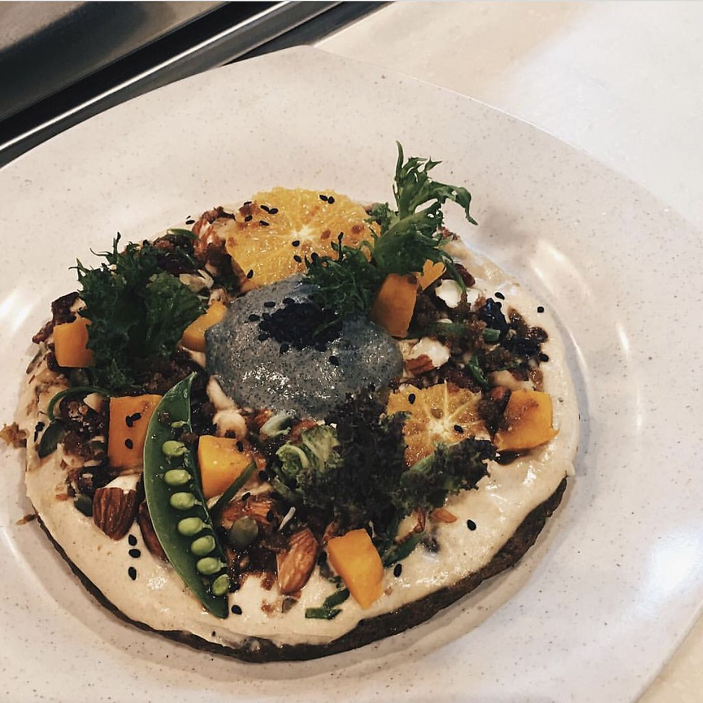 "Photo of The Wholefood Kitchen  by <a href=""/members/profile/CherylQuincy"">CherylQuincy</a> <br/>Pumpkin Oatmeal Pancake Topped with Black Sesame Ricotta & Orange Ginger Yoghurt.  <br/> January 21, 2018  - <a href='/contact/abuse/image/75426/349156'>Report</a>"