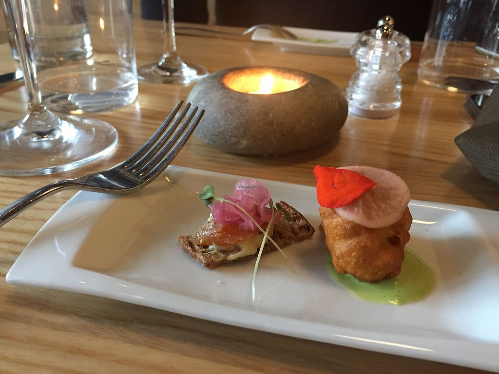 """Photo of Lincoln Street Food  by <a href=""""/members/profile/CathyDavid"""">CathyDavid</a> <br/>complementary starter dish <br/> July 13, 2017  - <a href='/contact/abuse/image/75443/280046'>Report</a>"""