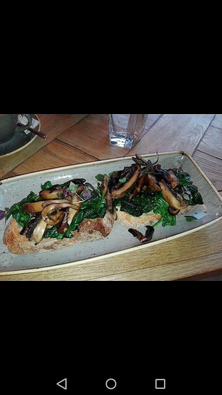 """Photo of Banyan Bar & Kitchen  by <a href=""""/members/profile/piffelina"""">piffelina</a> <br/>Mushroom toast <br/> December 30, 2017  - <a href='/contact/abuse/image/75445/340671'>Report</a>"""