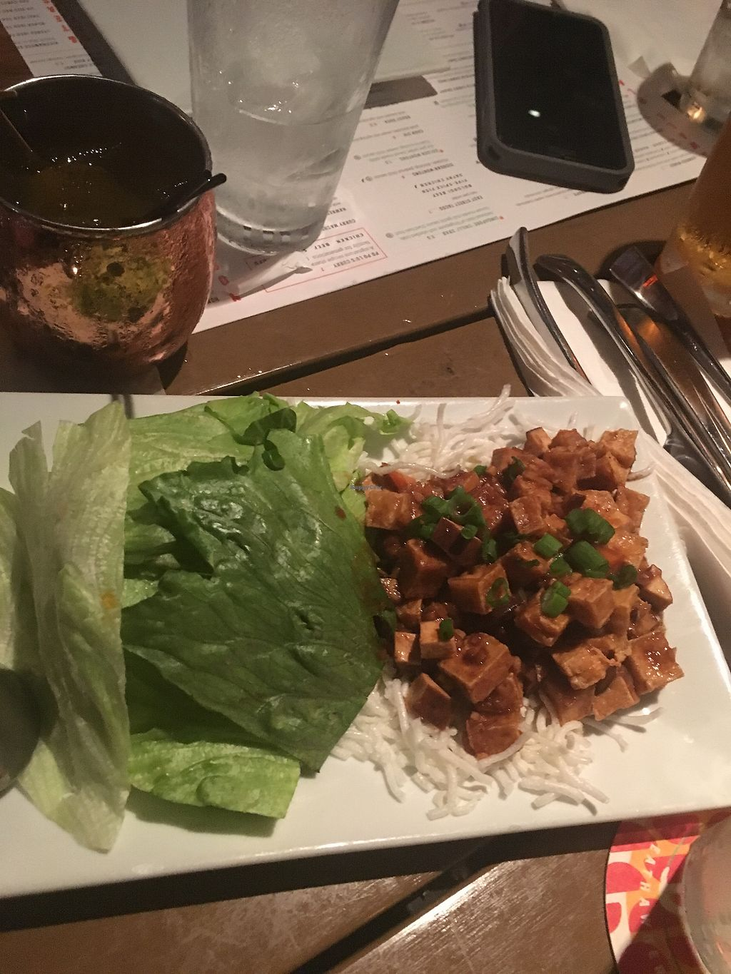 "Photo of Hawkers Asian Street Fare  by <a href=""/members/profile/nicolealcalde"">nicolealcalde</a> <br/>Tofu lettuce wraps <br/> December 3, 2017  - <a href='/contact/abuse/image/75448/331961'>Report</a>"