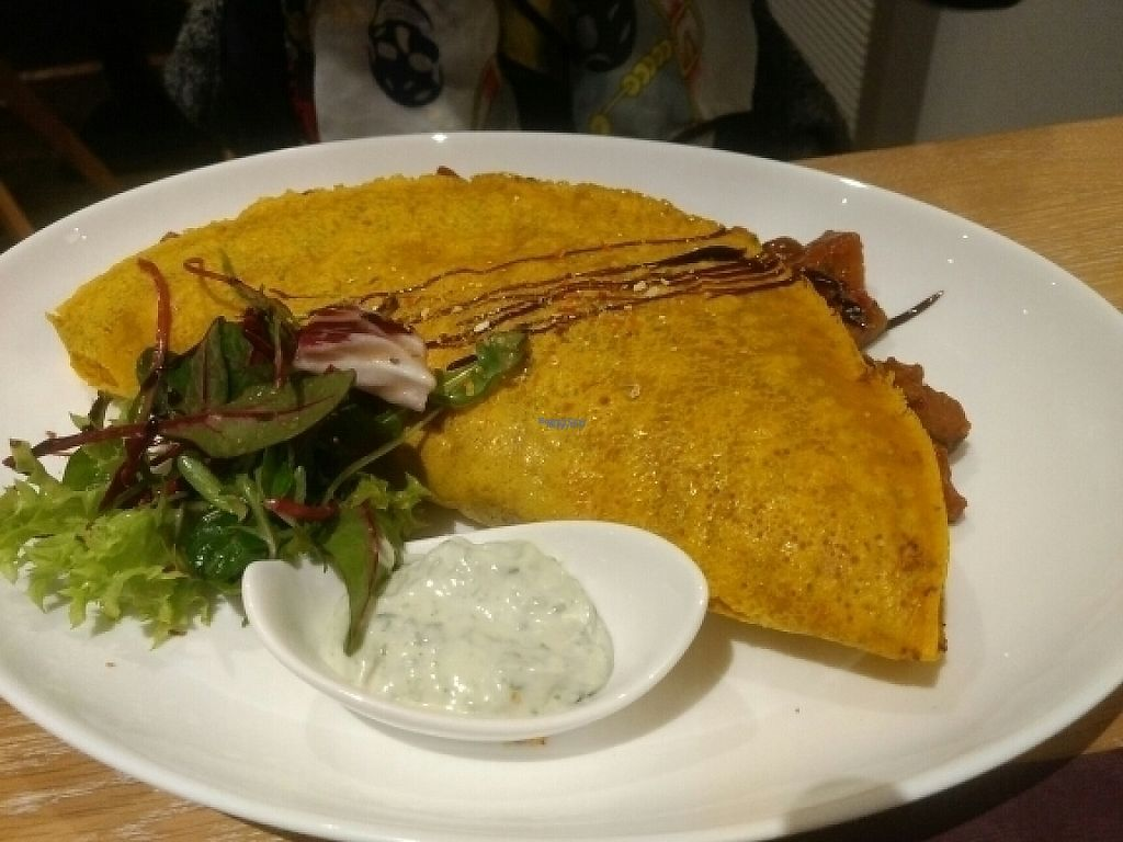 """Photo of Sauerlandstuben  by <a href=""""/members/profile/Belgo"""">Belgo</a> <br/>curcume lens crepes filled with ratatouille! <br/> February 9, 2017  - <a href='/contact/abuse/image/75457/224642'>Report</a>"""