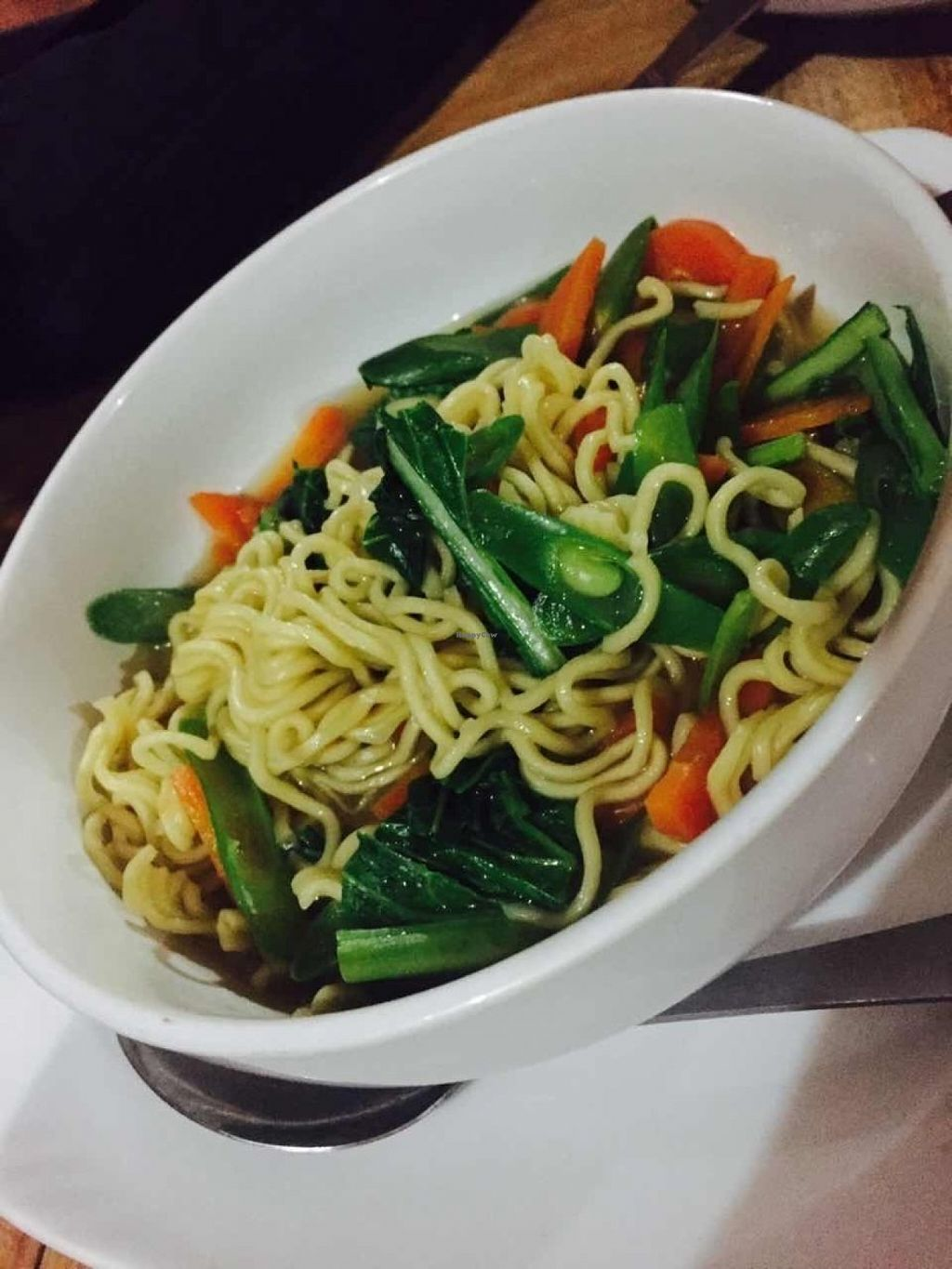 """Photo of Bali Maitreya Cafe  by <a href=""""/members/profile/rodgo"""">rodgo</a> <br/>Instant noodles soup <br/> July 15, 2016  - <a href='/contact/abuse/image/75459/159941'>Report</a>"""