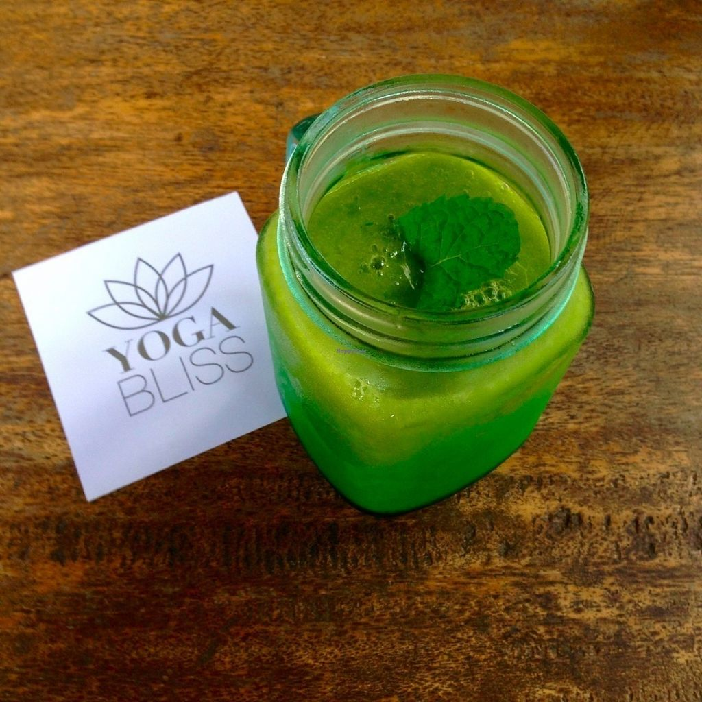 """Photo of Bali Maitreya Cafe  by <a href=""""/members/profile/Anna-li"""">Anna-li</a> <br/>Broccoli and Mango smoothie!  <br/> July 22, 2016  - <a href='/contact/abuse/image/75459/161497'>Report</a>"""