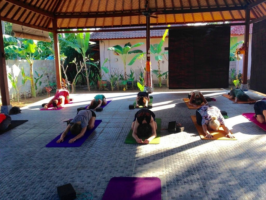 """Photo of Bali Maitreya Cafe  by <a href=""""/members/profile/Anna-li"""">Anna-li</a> <br/>Yoga Studio at the back <br/> July 22, 2016  - <a href='/contact/abuse/image/75459/161499'>Report</a>"""