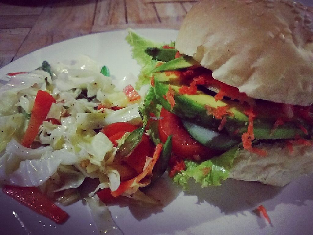 """Photo of Bali Maitreya Cafe  by <a href=""""/members/profile/Sophie"""">Sophie</a> <br/>avocado burger <br/> December 3, 2016  - <a href='/contact/abuse/image/75459/196959'>Report</a>"""