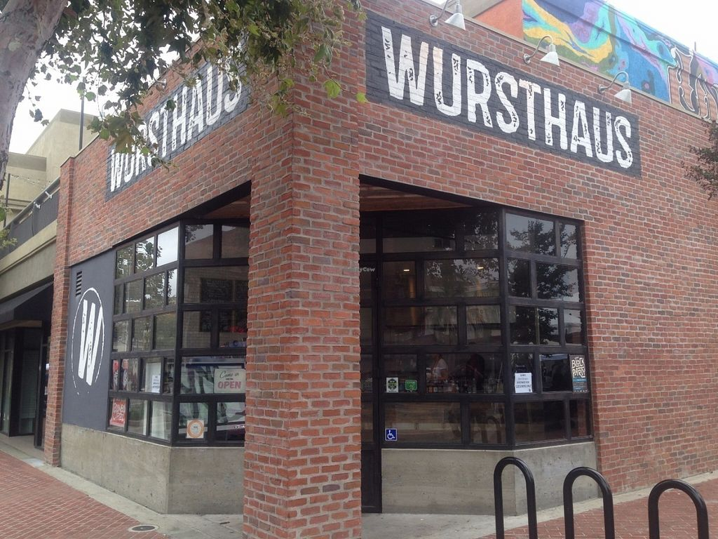 """Photo of Wursthaus  by <a href=""""/members/profile/Veganbloke"""">Veganbloke</a> <br/>Entrance <br/> July 11, 2016  - <a href='/contact/abuse/image/75465/159099'>Report</a>"""