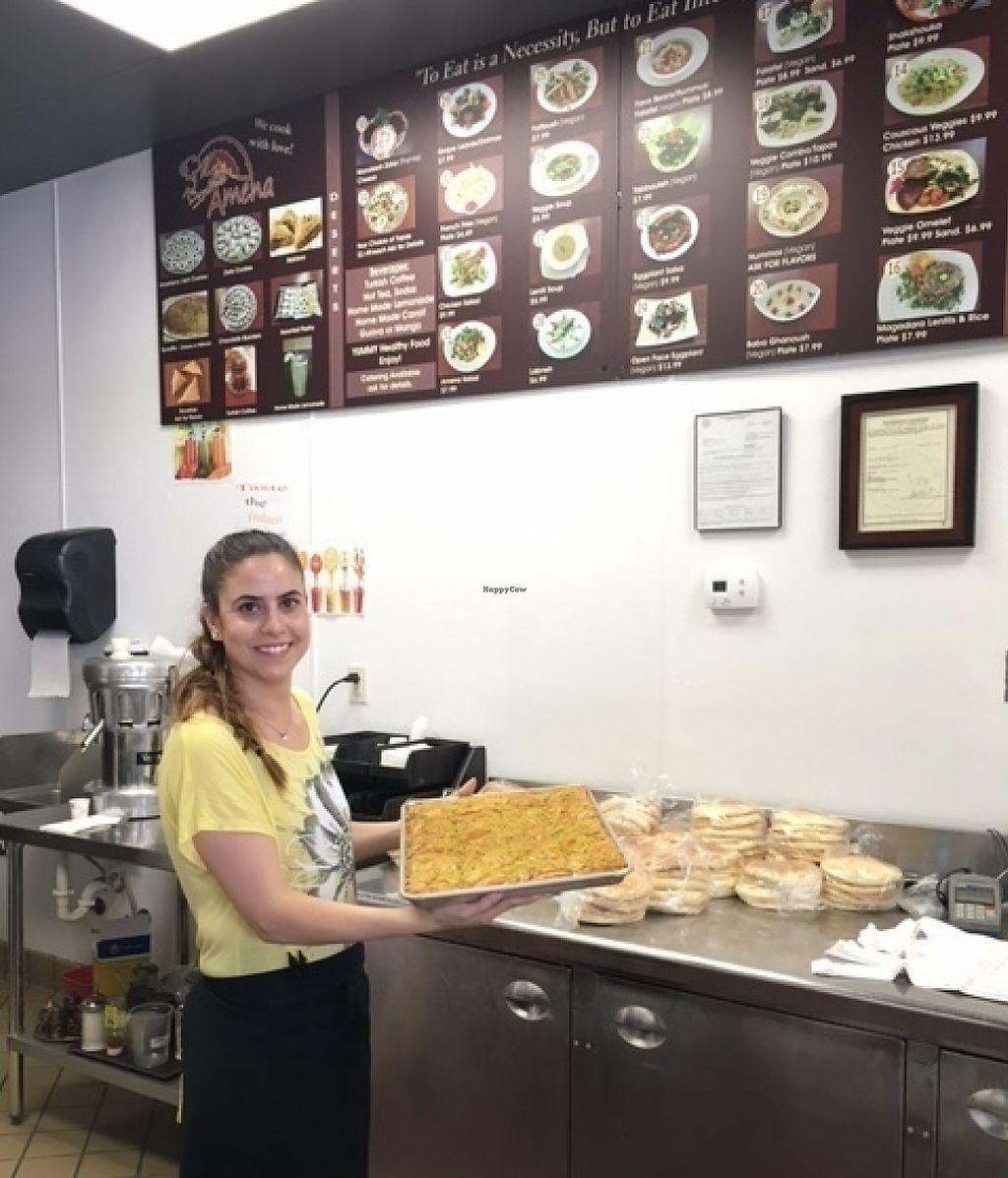 Amena Bakery and Cafe - Las Vegas Nevada - HappyCow