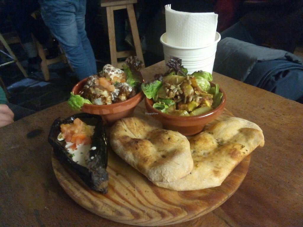 """Photo of Pura Vida Vegan Bar  by <a href=""""/members/profile/IsabelaePhanerothyme"""">IsabelaePhanerothyme</a> <br/>Combined dish <br/> December 2, 2017  - <a href='/contact/abuse/image/75544/331625'>Report</a>"""