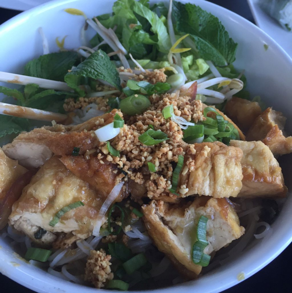 """Photo of Red Ginger  by <a href=""""/members/profile/Peeps"""">Peeps</a> <br/>Tofu Vermicelli Bowl <br/> July 22, 2016  - <a href='/contact/abuse/image/75559/161547'>Report</a>"""