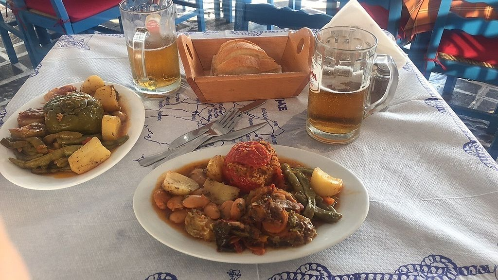 "Photo of Kali Kardia Restaurant  by <a href=""/members/profile/SophiaKae"">SophiaKae</a> <br/>Vegetarian plate  <br/> August 20, 2017  - <a href='/contact/abuse/image/75568/294612'>Report</a>"