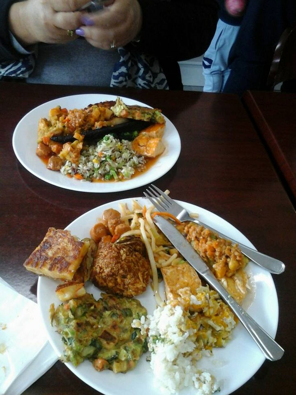 "Photo of Vegan Buffet  by <a href=""/members/profile/plantbased_cush"">plantbased_cush</a> <br/>yummy meal at the vegan buffet <br/> April 3, 2016  - <a href='/contact/abuse/image/7556/142569'>Report</a>"