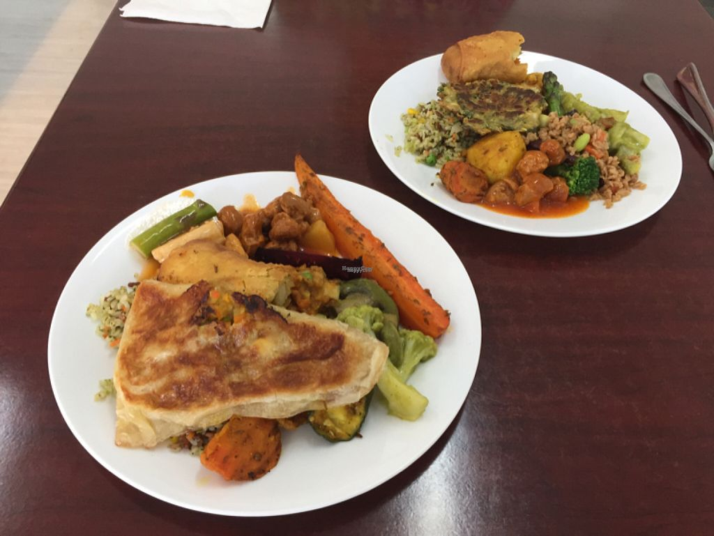 "Photo of Vegan Buffet  by <a href=""/members/profile/ShondellAvery"">ShondellAvery</a> <br/>Like an awesome Chinese potluck! <br/> October 31, 2016  - <a href='/contact/abuse/image/7556/185543'>Report</a>"