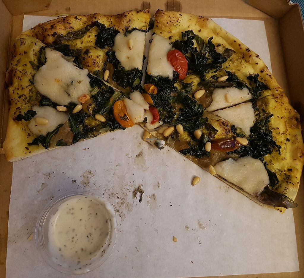 "Photo of Virtuous Pie - Main St  by <a href=""/members/profile/Tovah"">Tovah</a> <br/>Ultraviolet with Garlic Ranch <br/> August 28, 2017  - <a href='/contact/abuse/image/75580/298359'>Report</a>"