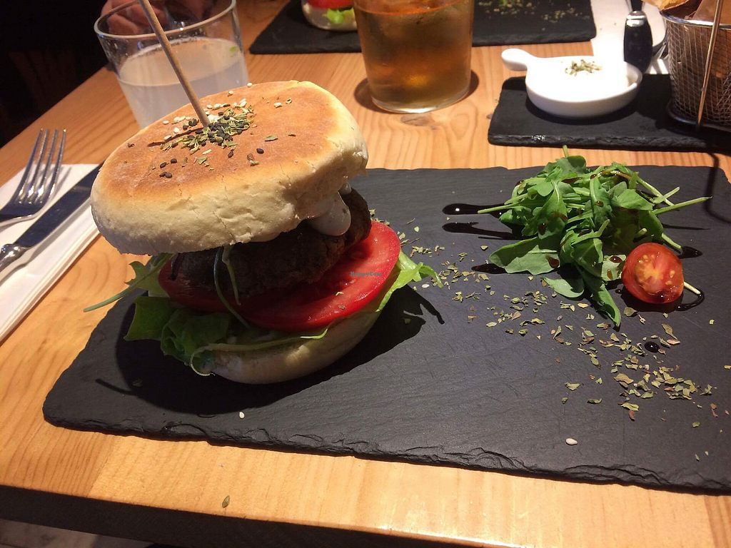 """Photo of Ao 26 - Vegan Food Project  by <a href=""""/members/profile/Oxymora"""">Oxymora</a> <br/>Really good burger with sweet potatoes.  <br/> January 4, 2018  - <a href='/contact/abuse/image/75593/342980'>Report</a>"""