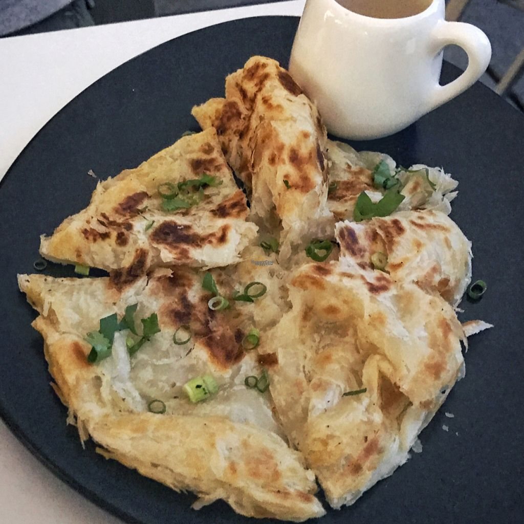 """Photo of Kindness Cafe  by <a href=""""/members/profile/Happychillieat"""">Happychillieat</a> <br/>roti with a curry dressing <br/> January 8, 2017  - <a href='/contact/abuse/image/75597/209401'>Report</a>"""