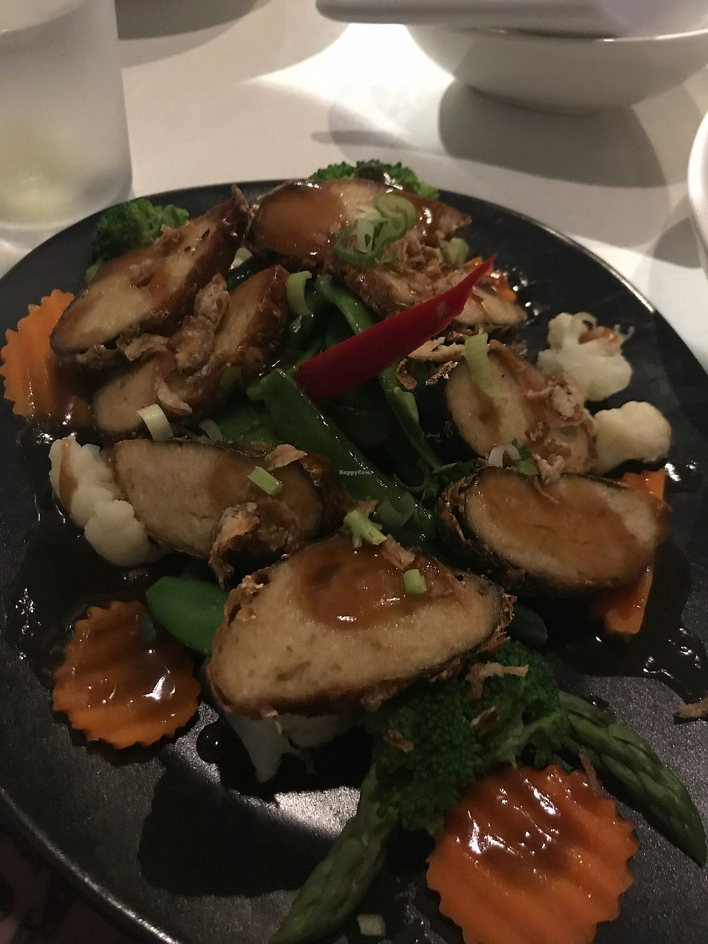 """Photo of Kindness Cafe  by <a href=""""/members/profile/LolaNachtigall"""">LolaNachtigall</a> <br/>Seaweed Tofu <br/> April 8, 2018  - <a href='/contact/abuse/image/75597/382376'>Report</a>"""