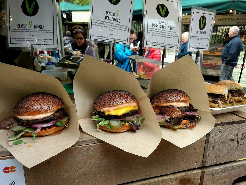 "Photo of Big V - Borough Market Food Stand  by <a href=""/members/profile/craigmc"">craigmc</a> <br/>on offer <br/> October 17, 2017  - <a href='/contact/abuse/image/75620/316161'>Report</a>"