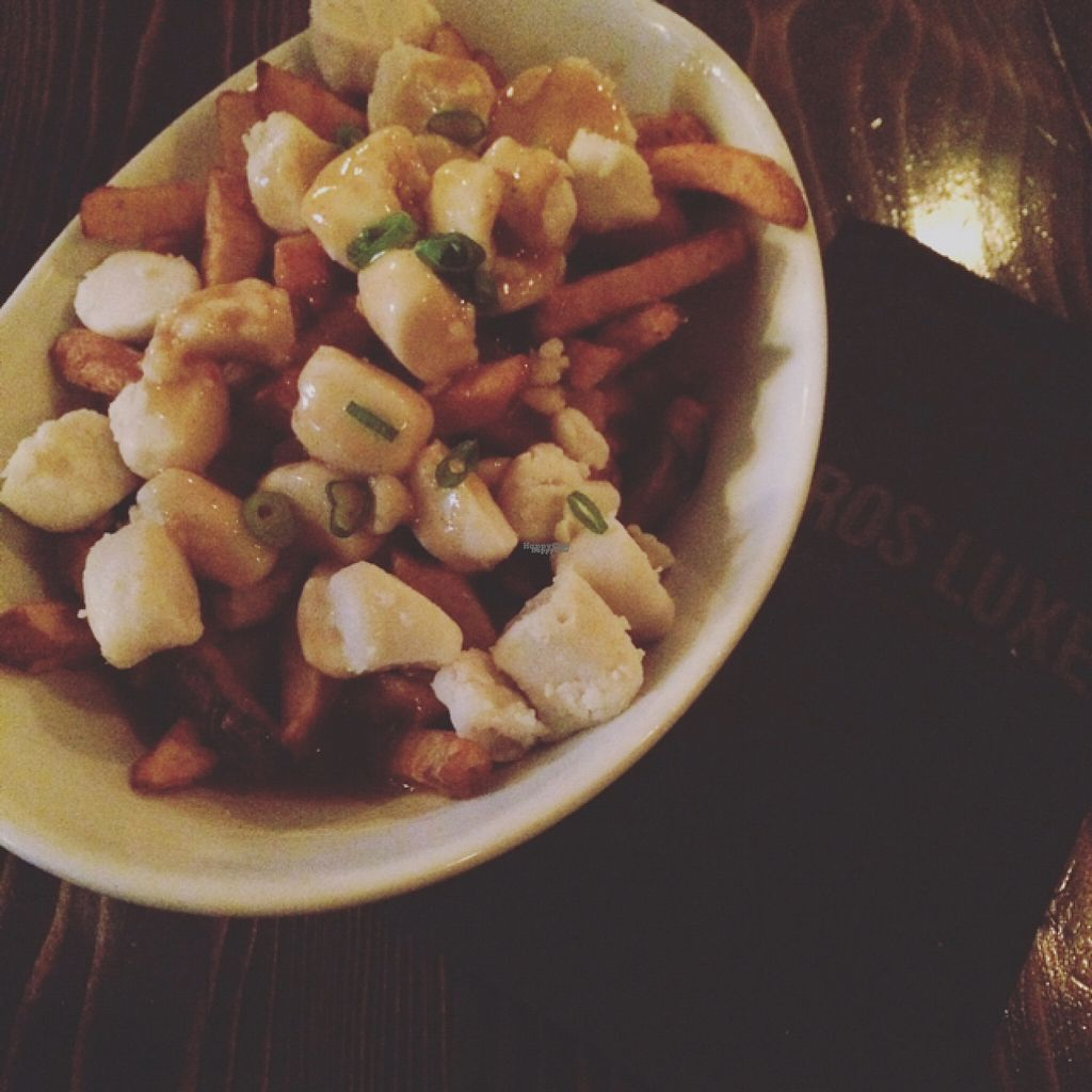 """Photo of CLOSED: L'Gros Luxe 100% Vege  by <a href=""""/members/profile/KarineVilleneuve"""">KarineVilleneuve</a> <br/>Poutine Vegan <br/> August 17, 2016  - <a href='/contact/abuse/image/75664/169365'>Report</a>"""