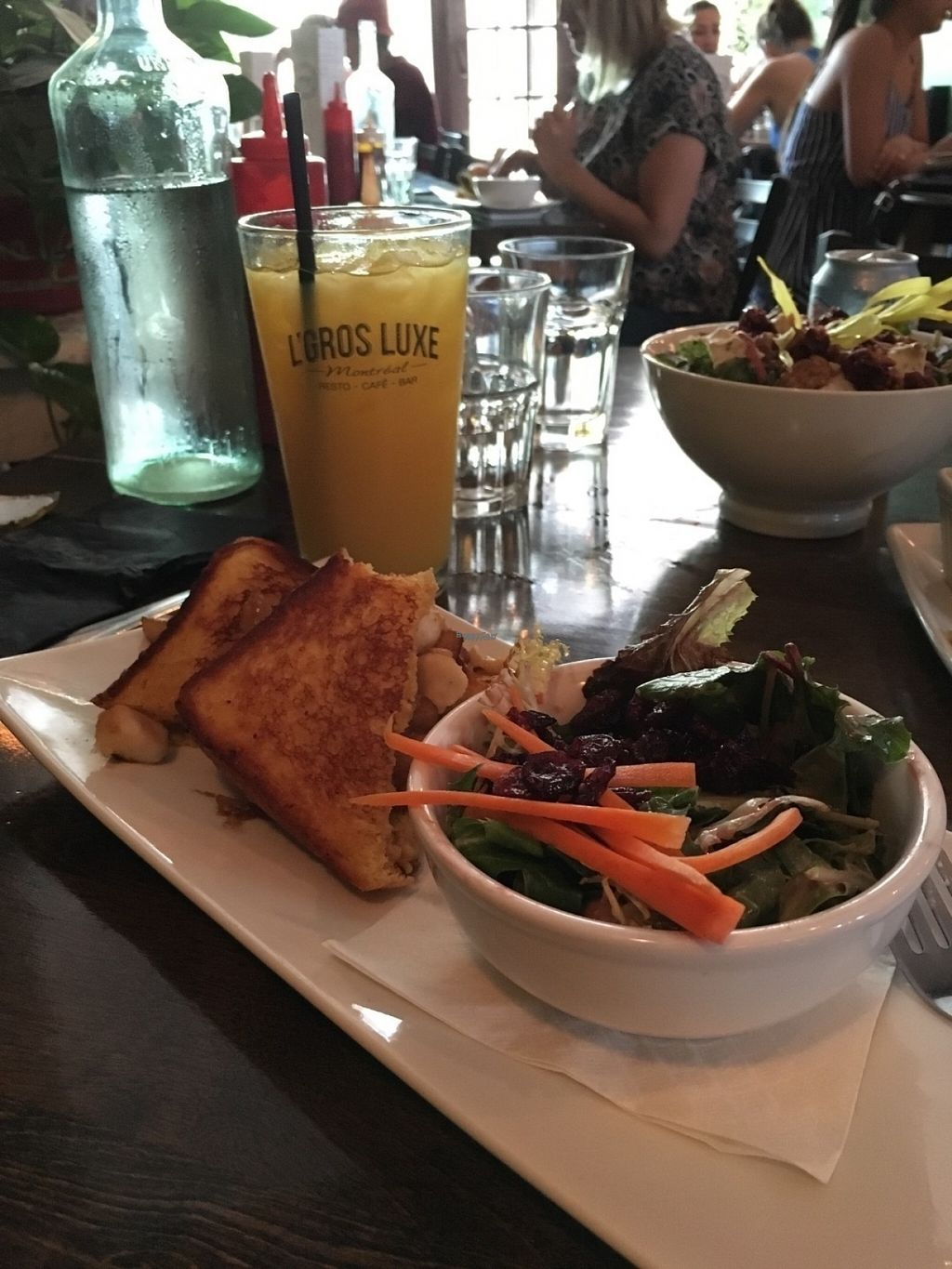 """Photo of CLOSED: L'Gros Luxe 100% Vege  by <a href=""""/members/profile/Veganikismyname"""">Veganikismyname</a> <br/>Omg their poutine grilled cheese sandwich is to die for! <br/> August 23, 2016  - <a href='/contact/abuse/image/75664/170856'>Report</a>"""