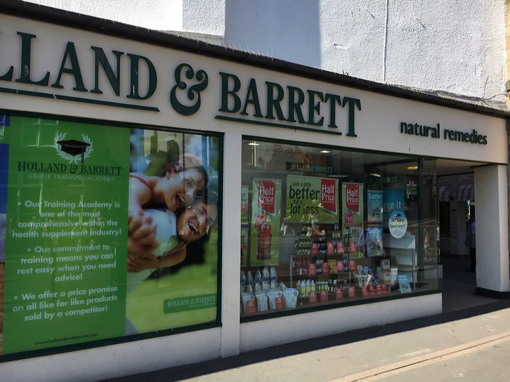 """Photo of Holland & Barrett  by <a href=""""/members/profile/hack_man"""">hack_man</a> <br/>outside  <br/> May 26, 2017  - <a href='/contact/abuse/image/75671/262715'>Report</a>"""