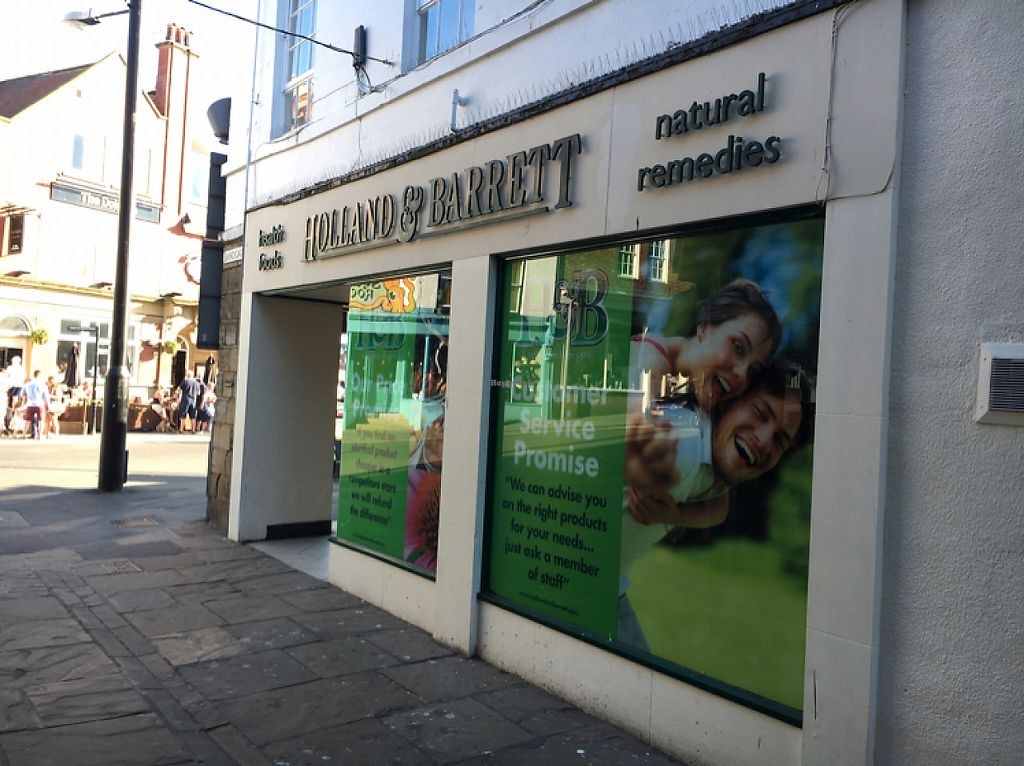 """Photo of Holland & Barrett  by <a href=""""/members/profile/hack_man"""">hack_man</a> <br/>outside  <br/> May 26, 2017  - <a href='/contact/abuse/image/75671/262717'>Report</a>"""
