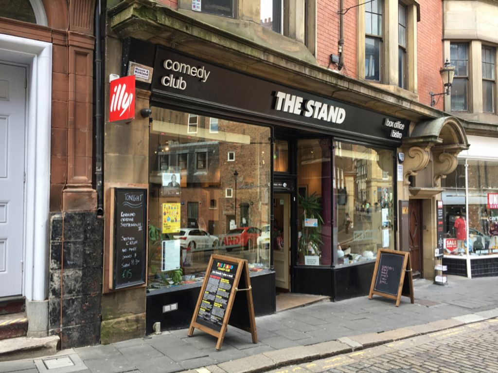 """Photo of The Stand Comedy Club  by <a href=""""/members/profile/hack_man"""">hack_man</a> <br/>outside  <br/> July 30, 2016  - <a href='/contact/abuse/image/75683/163438'>Report</a>"""