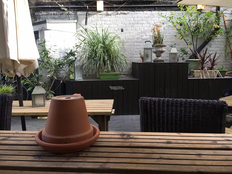 """Photo of The Stand Comedy Club  by <a href=""""/members/profile/hack_man"""">hack_man</a> <br/>nice seating in the garden  <br/> October 8, 2016  - <a href='/contact/abuse/image/75683/180615'>Report</a>"""
