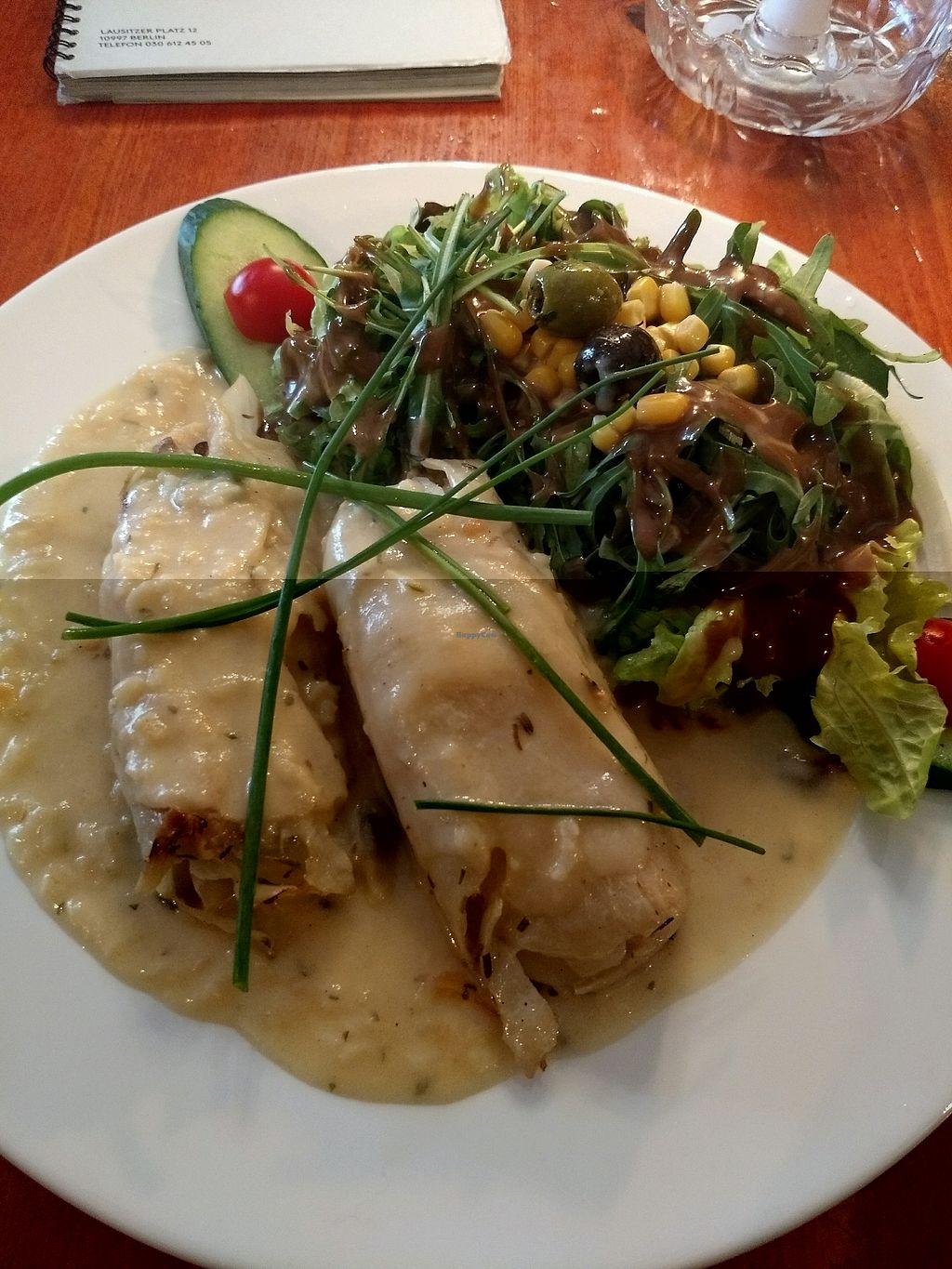 """Photo of Cafe V  by <a href=""""/members/profile/Cam"""">Cam</a> <br/>cabbage roulade <br/> November 24, 2017  - <a href='/contact/abuse/image/7568/328738'>Report</a>"""