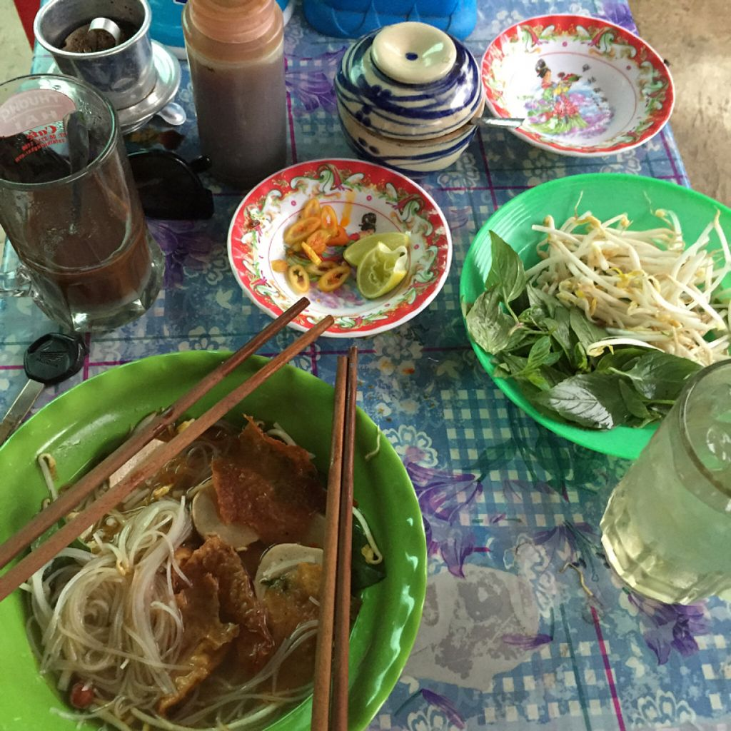 """Photo of Giai Khat Thao Chau   by <a href=""""/members/profile/Bhannah"""">Bhannah</a> <br/>veg noodles <br/> June 28, 2016  - <a href='/contact/abuse/image/75697/156522'>Report</a>"""