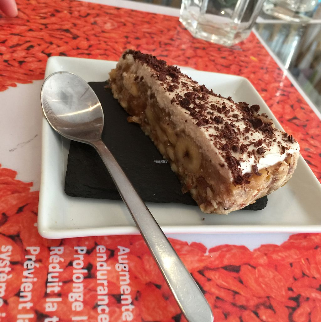 "Photo of Vegan Cafe  by <a href=""/members/profile/Marie-Lucile"">Marie-Lucile</a> <br/>dessert cru banane chocolat  <br/> April 15, 2017  - <a href='/contact/abuse/image/75704/248312'>Report</a>"