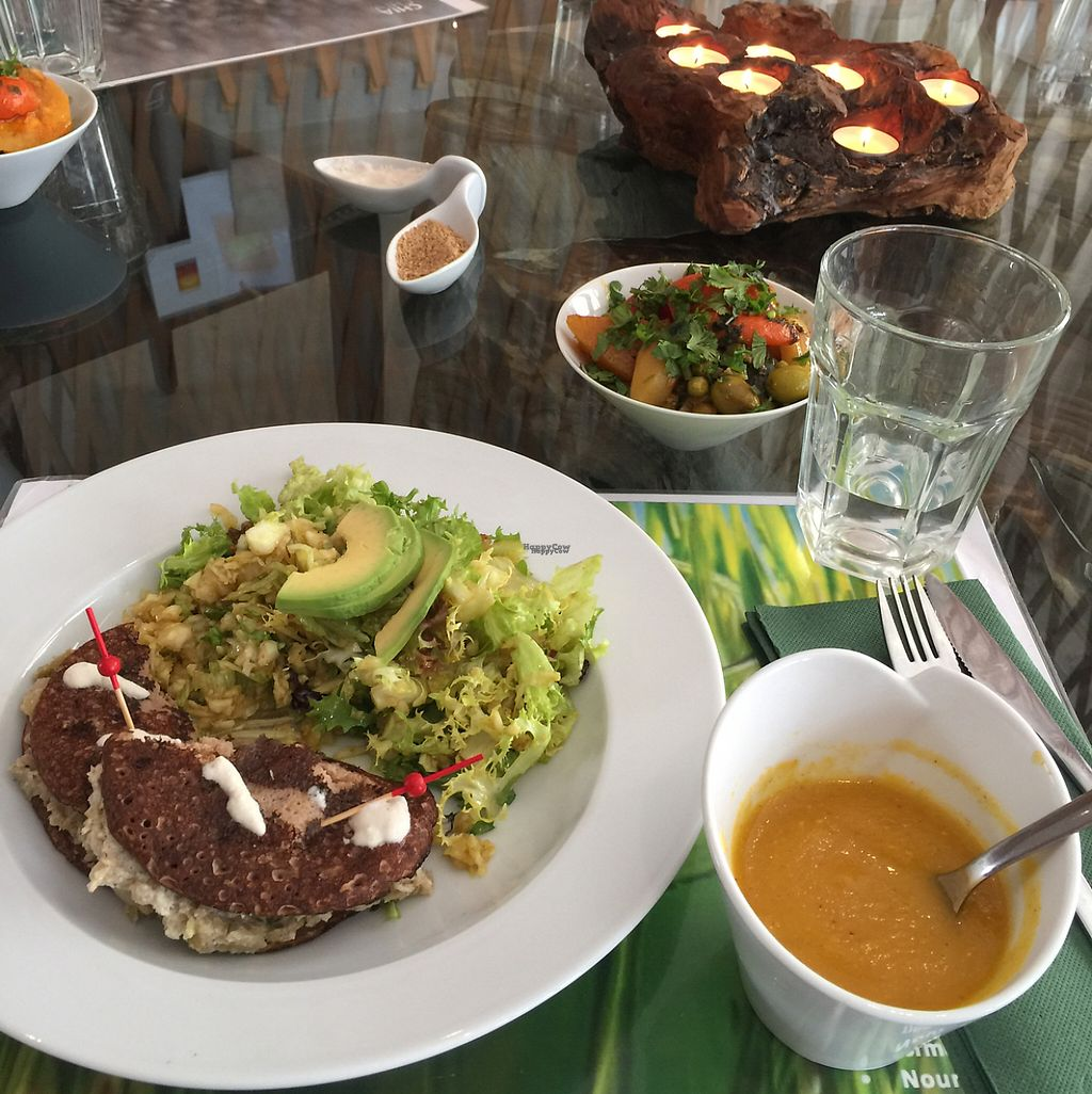"Photo of Vegan Cafe  by <a href=""/members/profile/Marie-Lucile"">Marie-Lucile</a> <br/>plat du jour <br/> April 15, 2017  - <a href='/contact/abuse/image/75704/248313'>Report</a>"