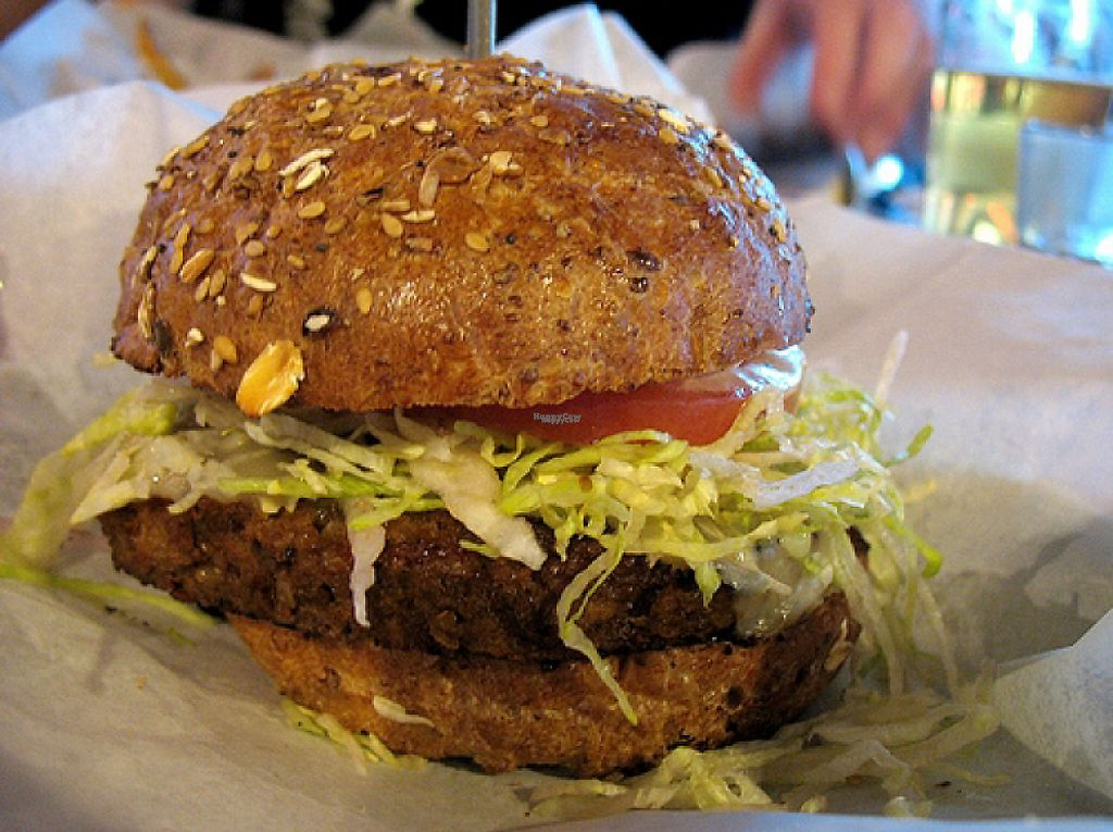"Photo of Bareburger  by <a href=""/members/profile/BriggitteJ"">BriggitteJ</a> <br/>vegan burger <br/> January 30, 2017  - <a href='/contact/abuse/image/75719/219600'>Report</a>"
