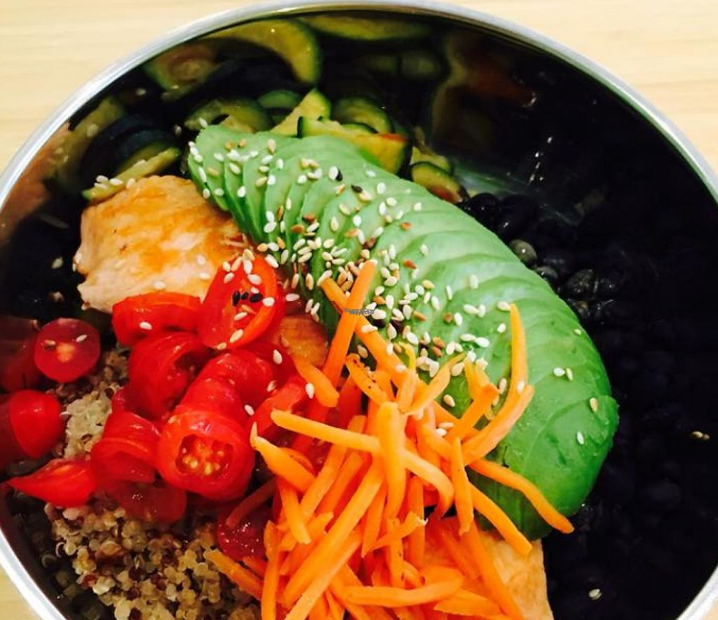 """Photo of Rice Junkies - Downtown  by <a href=""""/members/profile/community"""">community</a> <br/>Quinoa Bowl with Avocado <br/> March 23, 2017  - <a href='/contact/abuse/image/75770/239813'>Report</a>"""