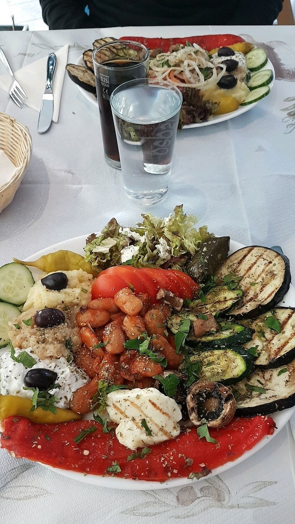 """Photo of Zorbas Land   by <a href=""""/members/profile/KimberlyM."""">KimberlyM.</a> <br/>vegetarian plate  <br/> March 13, 2018  - <a href='/contact/abuse/image/75784/370244'>Report</a>"""