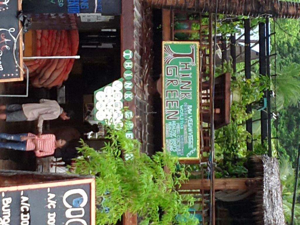 """Photo of CLOSED: Think Green Vegan Cafe  by <a href=""""/members/profile/Fairbridge"""">Fairbridge</a> <br/>Front View Think Green <br/> June 30, 2016  - <a href='/contact/abuse/image/75810/156912'>Report</a>"""