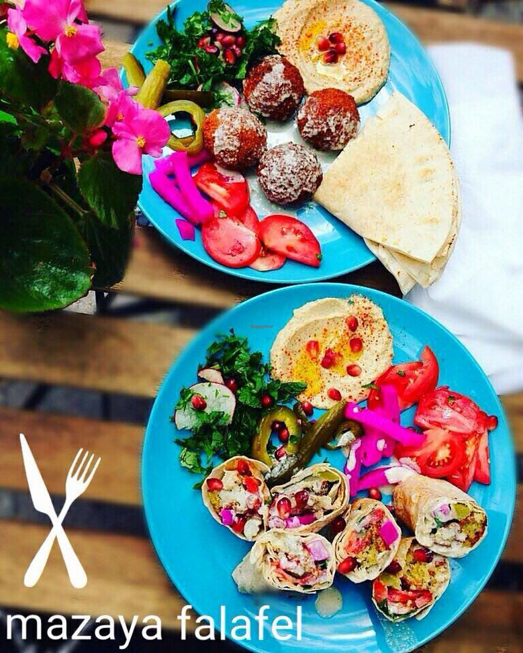"""Photo of Mazaya Falafel  by <a href=""""/members/profile/RoslinnieJemy"""">RoslinnieJemy</a> <br/>Mazaya falafel <br/> July 6, 2016  - <a href='/contact/abuse/image/75827/158153'>Report</a>"""